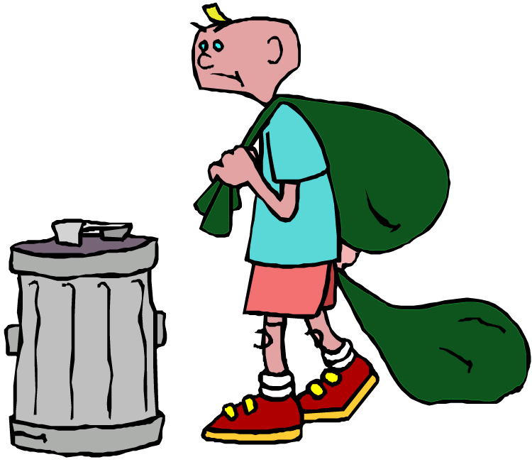 750x651 Cleaning Garbage Clipart