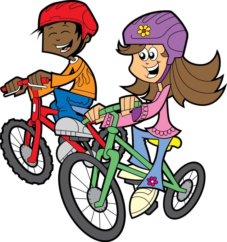 968x1033 Kids Riding Bikes Clipart Free Clipart Images