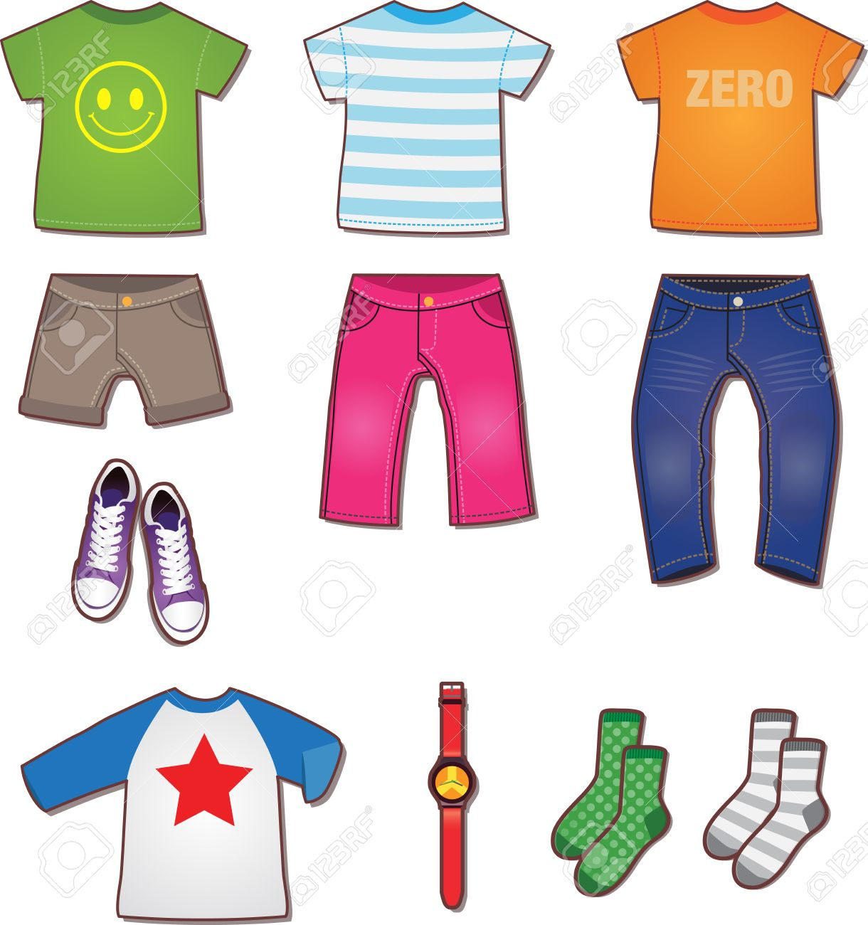 kid clothes clipart free on clipartmag