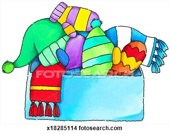 350x277 Free Winter Clothing Clipart