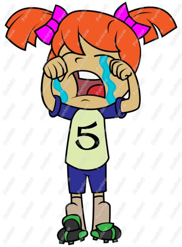 590x800 Girl Crying Clip Art Cartoon Clipart Panda