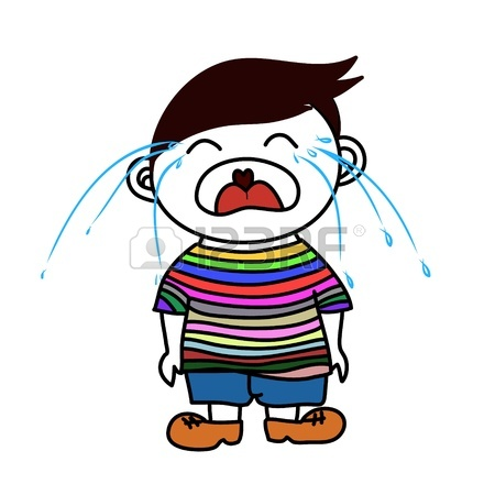 450x450 Illustration Of A Boy Crying Royalty Free Cliparts, Vectors,