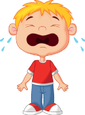 297x399 Young Boy Cartoon Crying Clipart The Arts Image Pbs