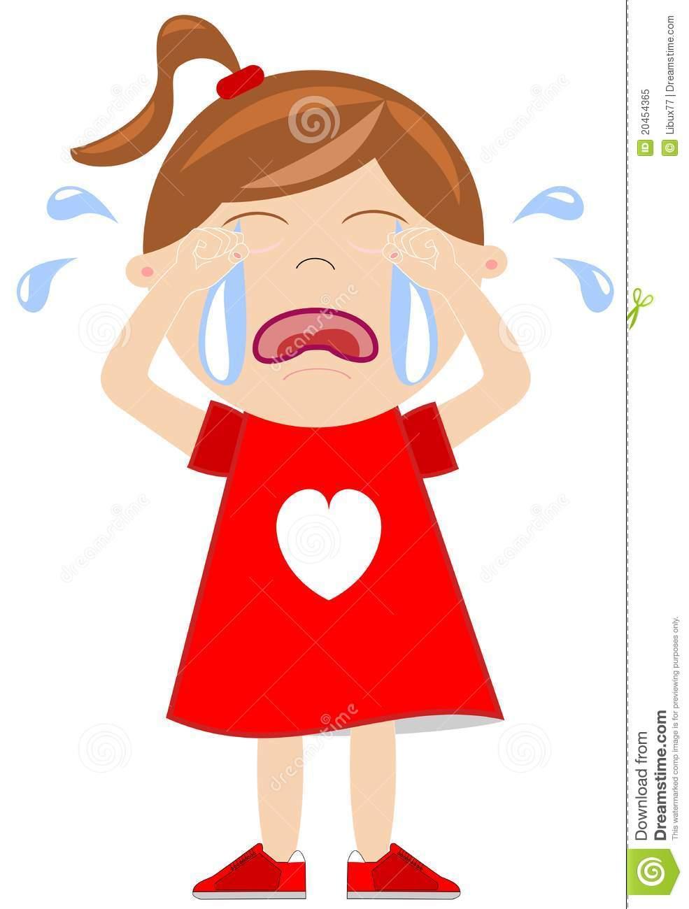 985x1300 Crying Girl