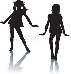 236x248 Free Printable Kids Dance Silouttes Silhouette Sport Dance Stock