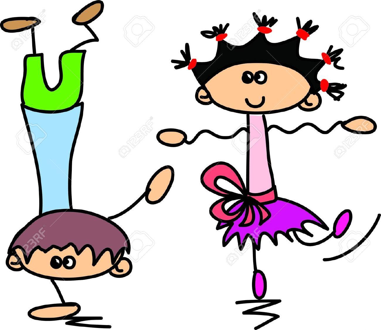 1300x1126 Clip Art Kids Dancing