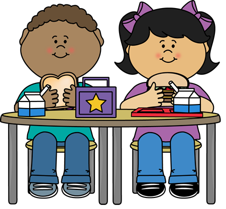 450x416 Kids Eating Clipart