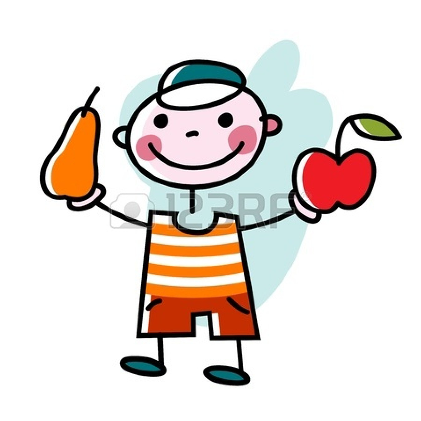 1350x1350 Apple Eating Apple Clipart