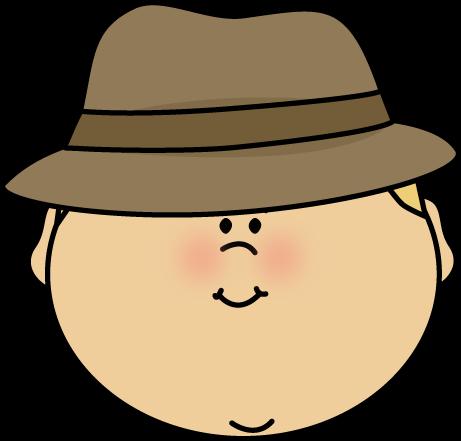 461x441 Detective Face Clip Art