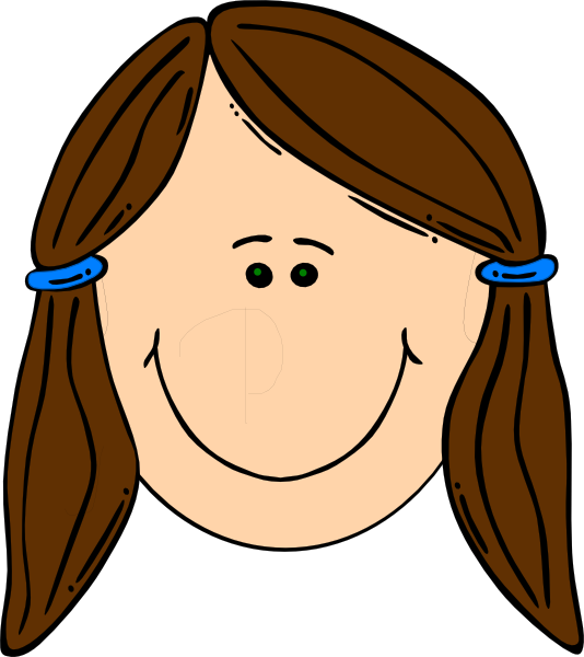 534x600 Face Sisters Clipart