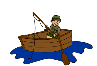 320x220 Clip Art Images Of Kids Fishing For Making Teaching Resources