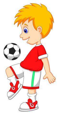 236x466 Kid Football Player Cartoon Image D Kid Images