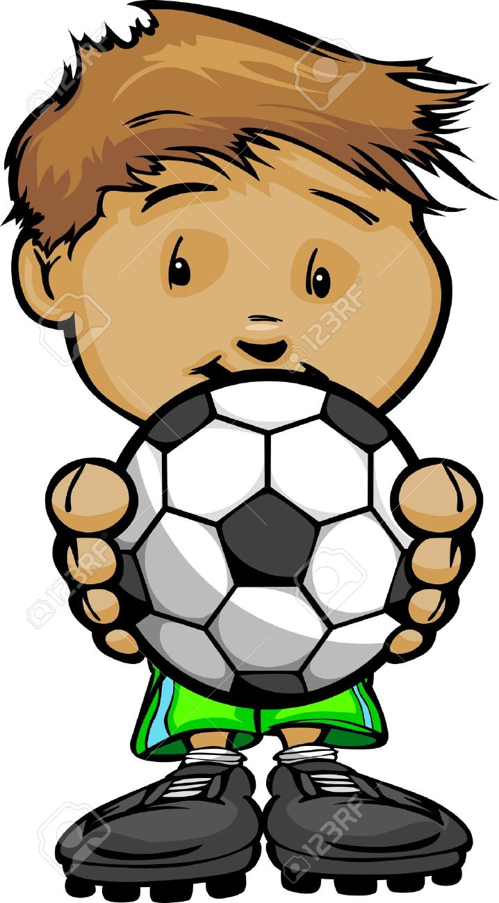 718x1300 Kid Soccer Clipart, Explore Pictures