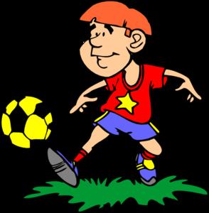 294x300 Soccer Player Clip Art