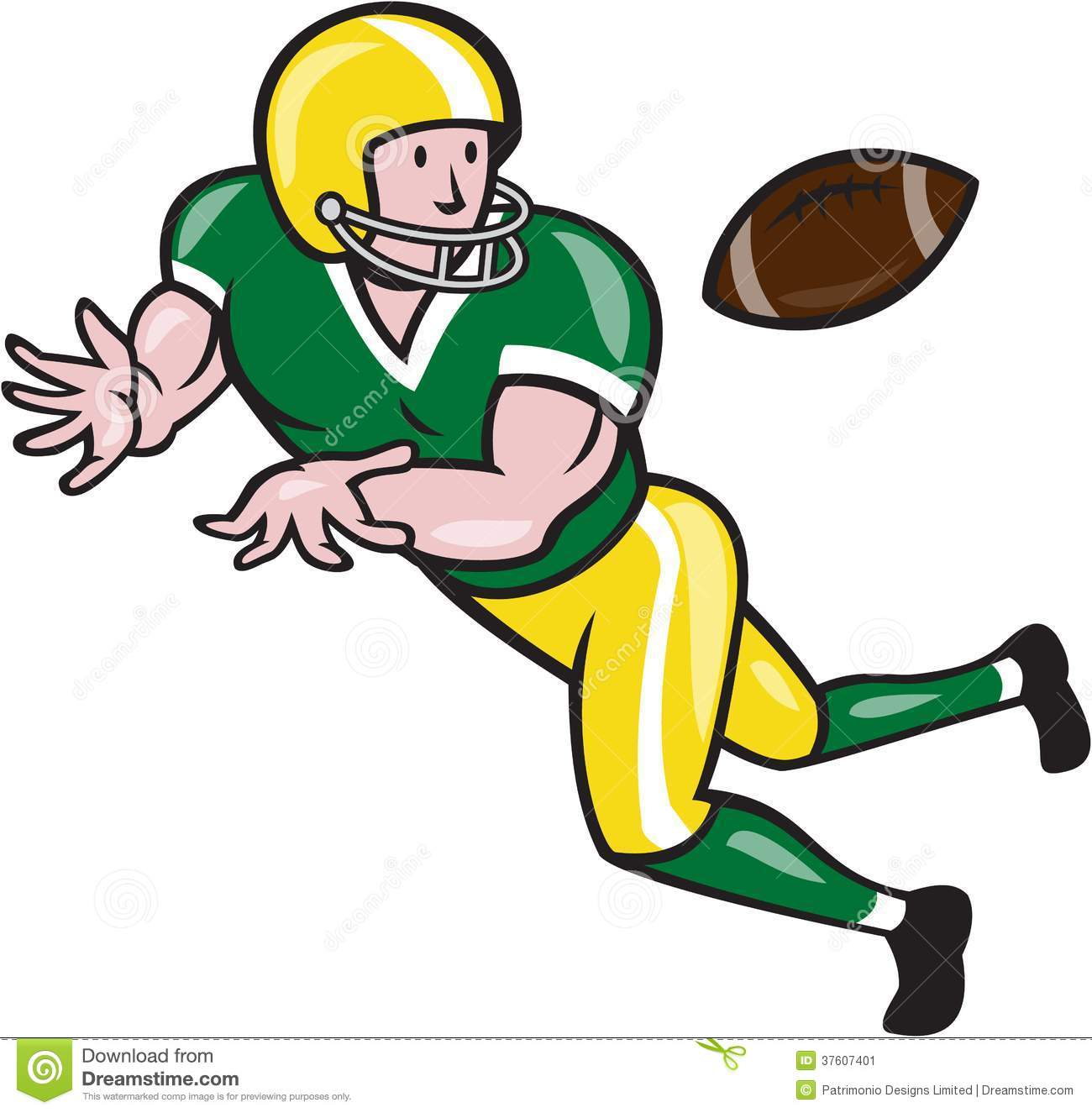 1300x1325 Cartoon Football Player Clipart