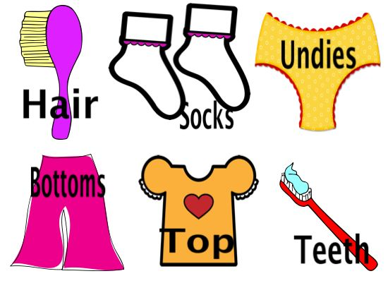 550x425 Getting Dressed Clipart Free Images 5