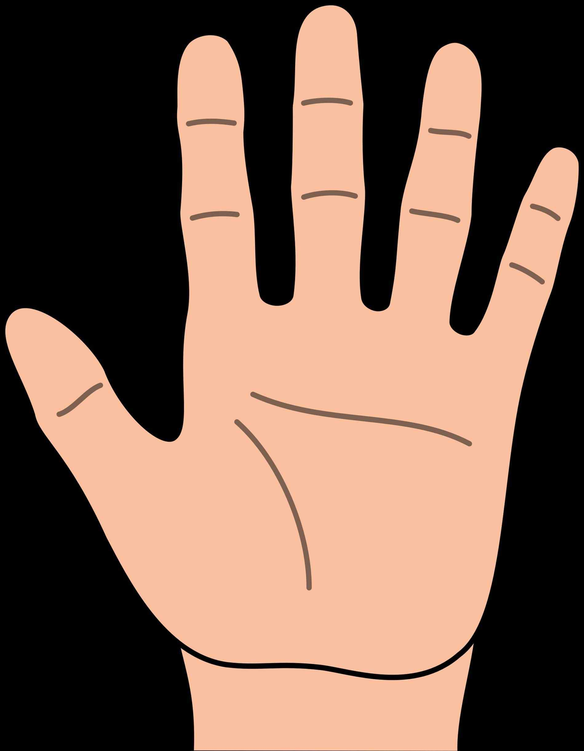 1899x2443 Kid Hand Clip Art Library High Five Ingcom High Kid Hand Clip Art