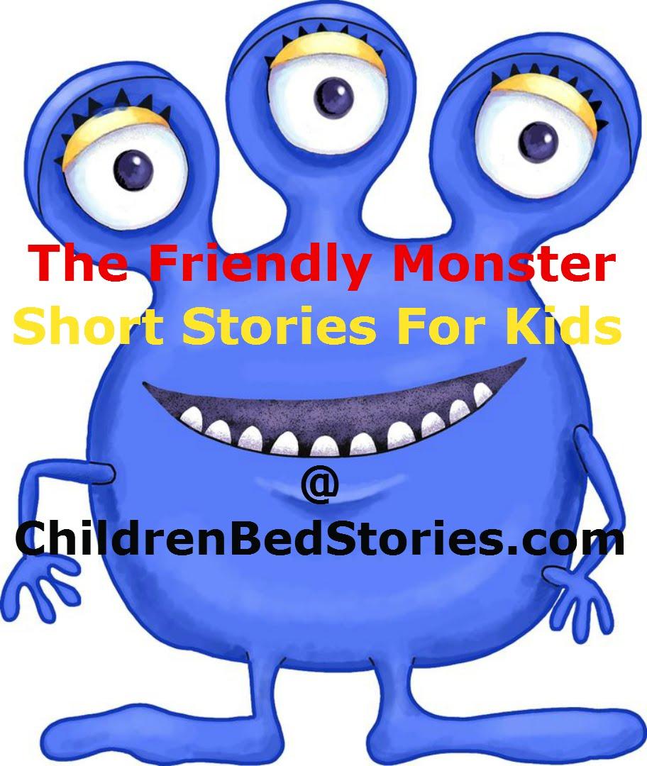 912x1080 The Friendly Monster Children Bedtime Stories Short Stories