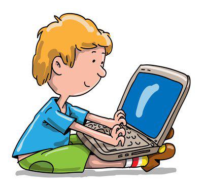 400x369 Laptop Clipart Kid Laptop