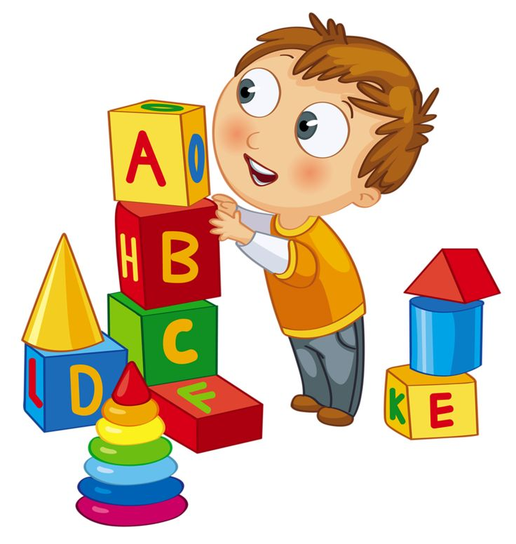 736x776 Clipart Kids With Blocks
