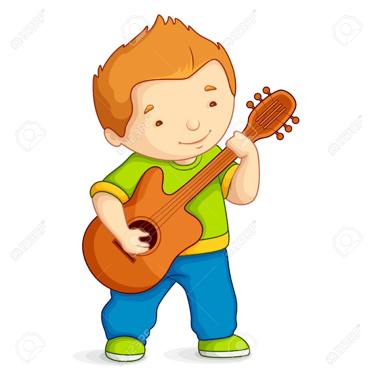 1300x1300 Guitar Clipart For Kid