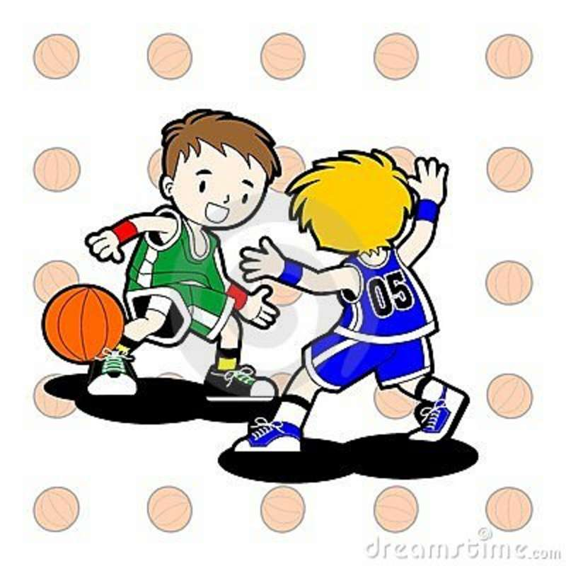 800x800 Child Clipart Basketball