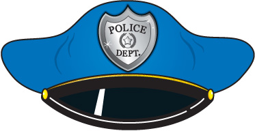 373x192 Badge Police Hat Clipart Clipart Kid
