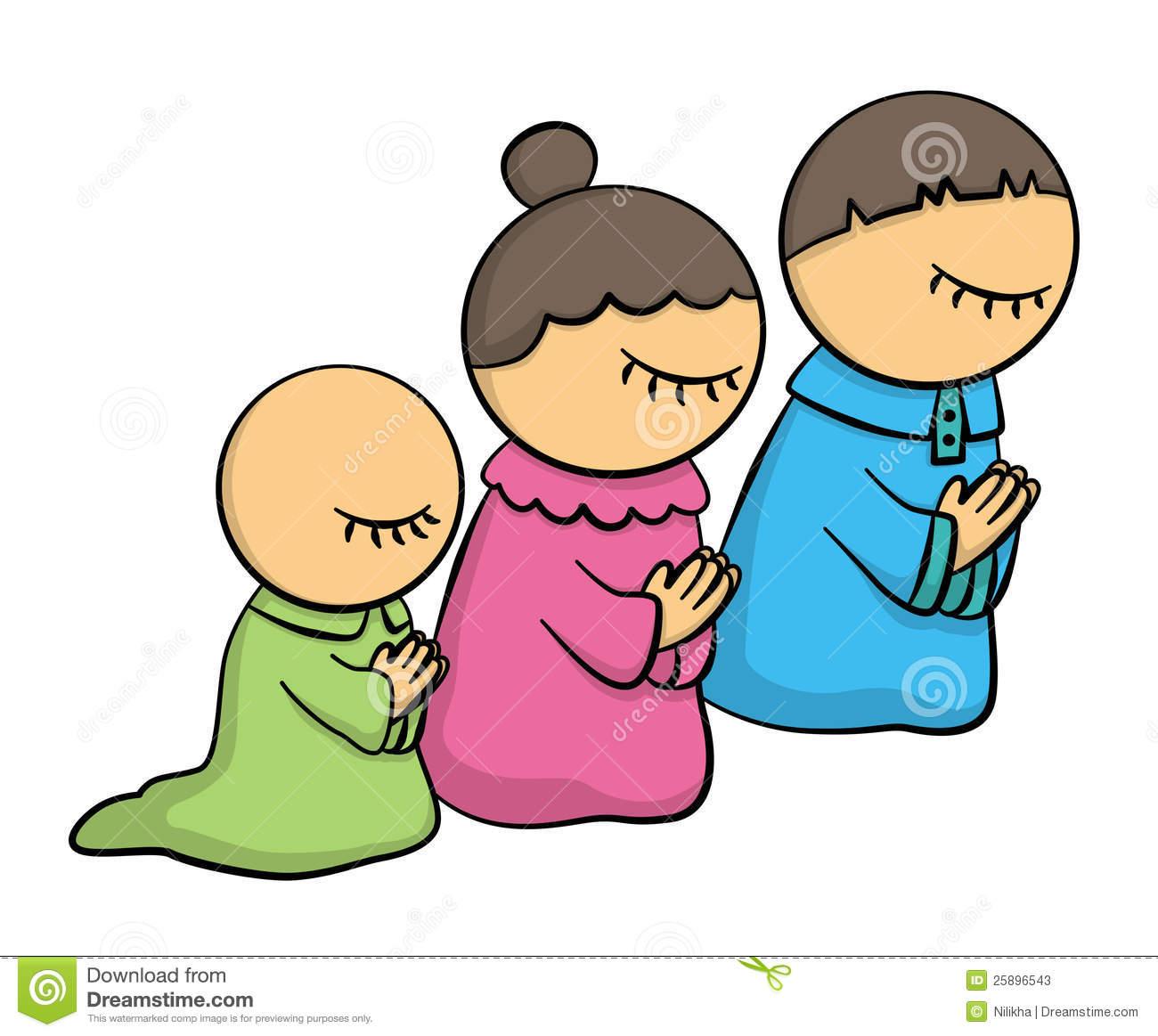 1300x1163 Family Prayer Clipart
