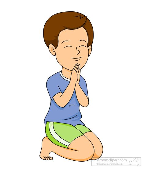 471x550 Praying Clipart