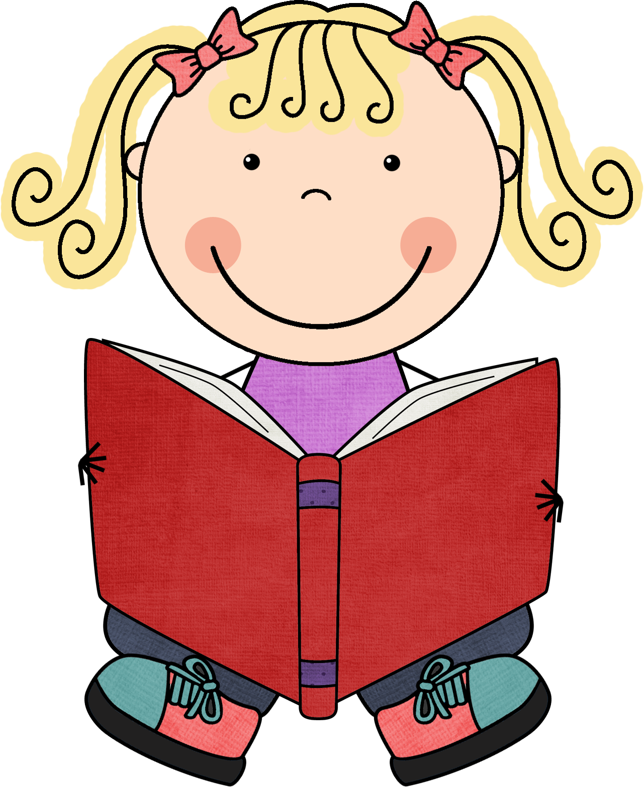 1281x1567 Kid Reading Clipart 3