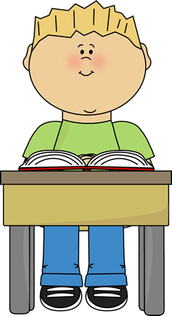 245x450 Kids With School Books Clipart