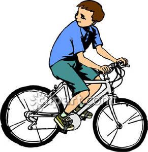291x300 Bike Clipart Boy