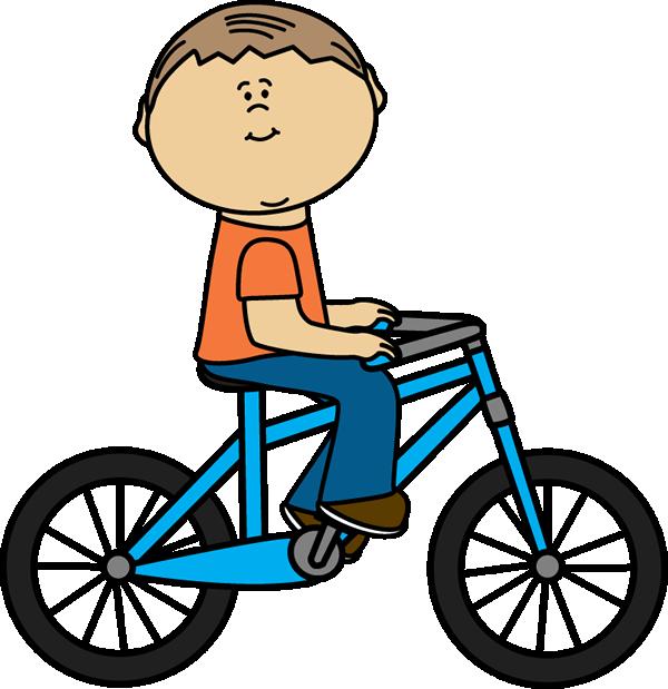 600x619 Bike Riding Clipart