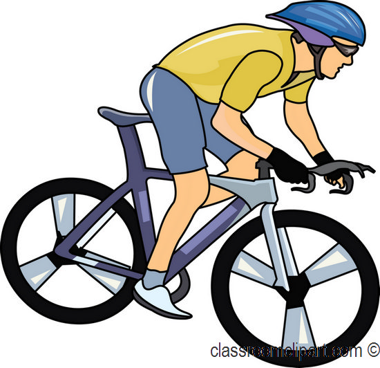 550x532 Cycling Clipart