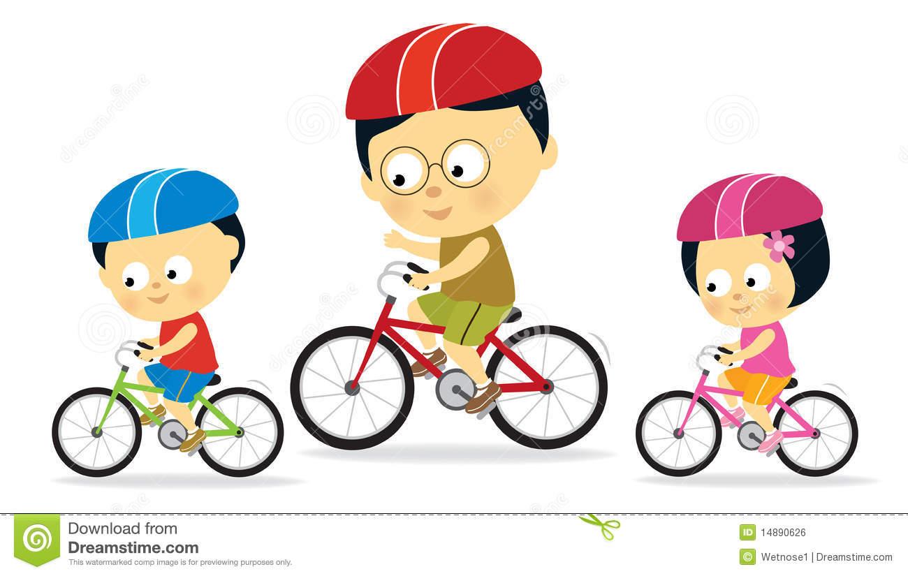 1300x825 Kids Riding Bikes Clipart Clipart Panda
