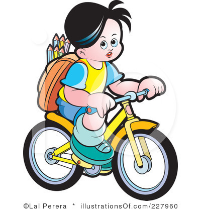 400x420 Ride Clipart Kid Cycle