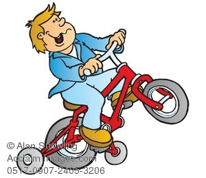 300x259 Kid Riding A Bike Clipart Amp Stock Photography Acclaim Images