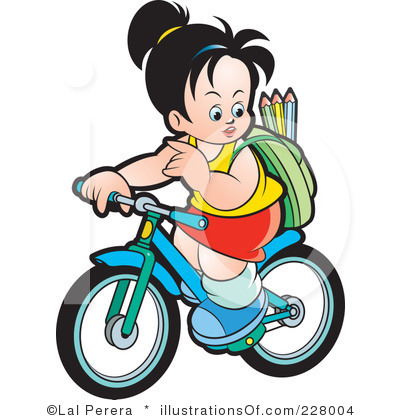 400x420 Bicycle Clipart School Thing