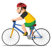 170x160 Clip Art Of Children Riding On A Bicycle K12746337