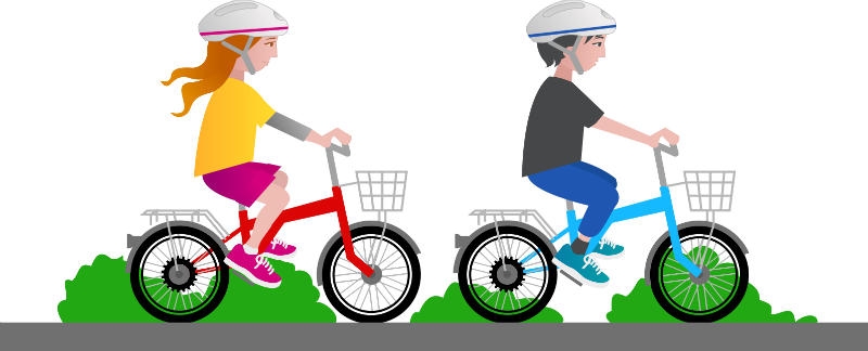 800x324 Bicycle Clipart Bike Safety