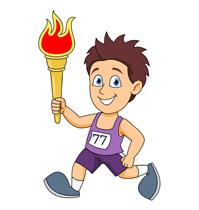 199x210 Kid Running Clipart Boy