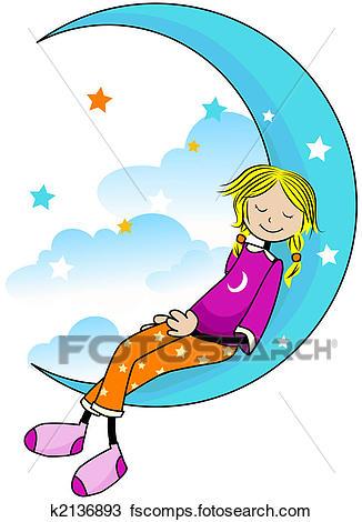 326x470 Drawing Of Sleeping Kid K2136893