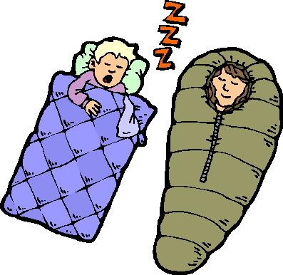 397x386 Sleeping Bag Clipart Kid 2