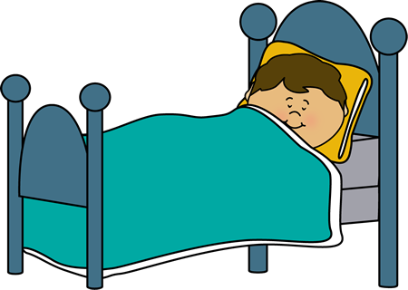 450x320 Bed Clipart Sleeping Child
