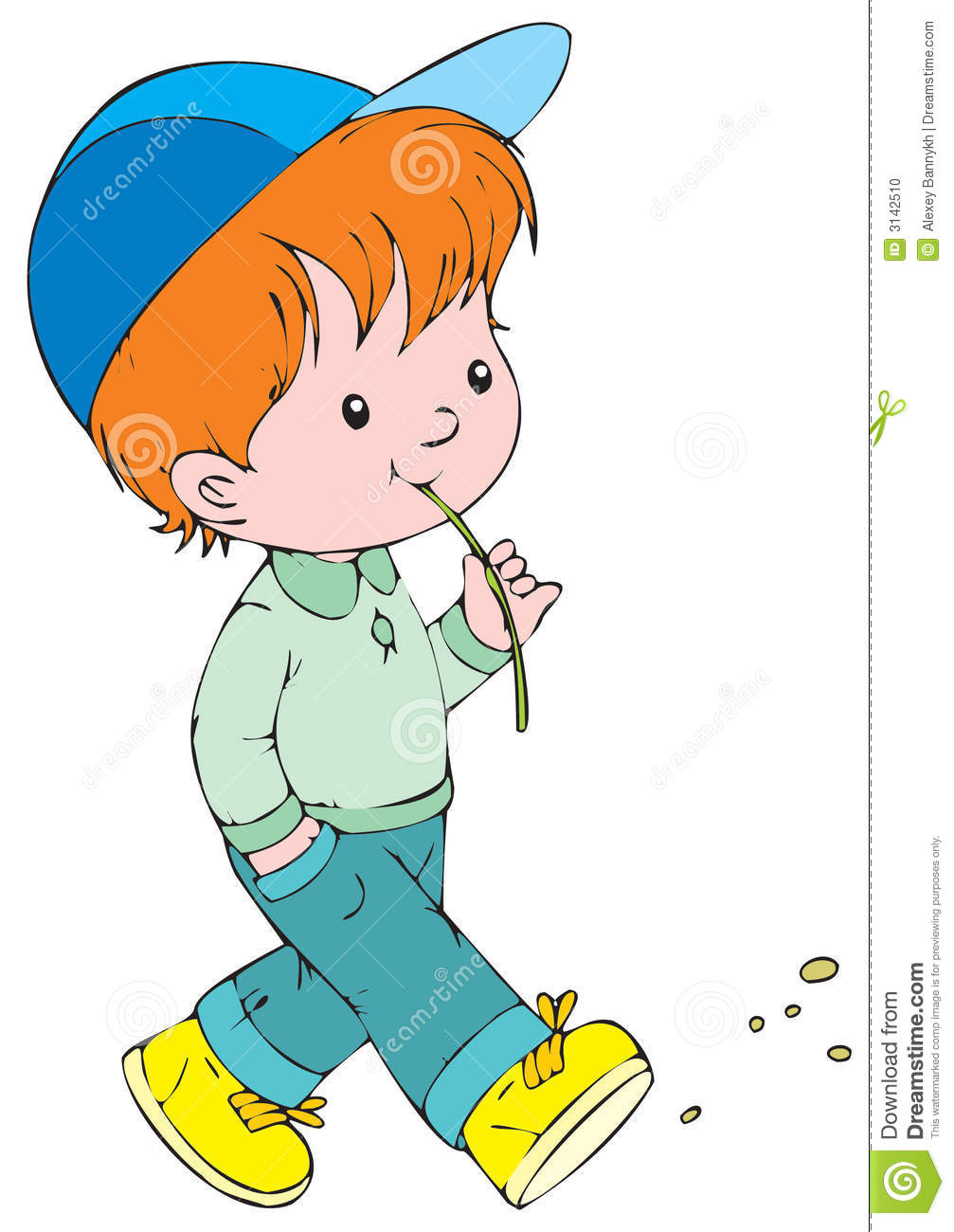 1007x1300 Child Walking Clipart