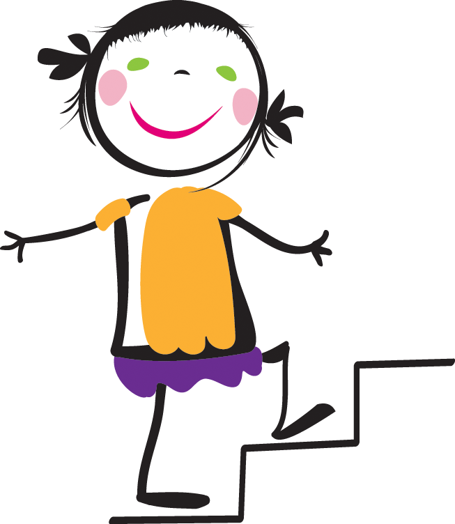 653x752 Go Back Gallery For Kids Walking Up Stairs Clipart Things That