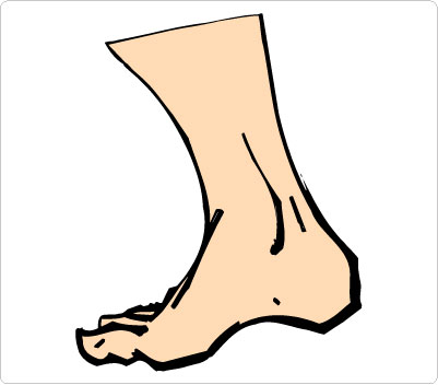401x352 Walking Feet Kid Walking Clip Art