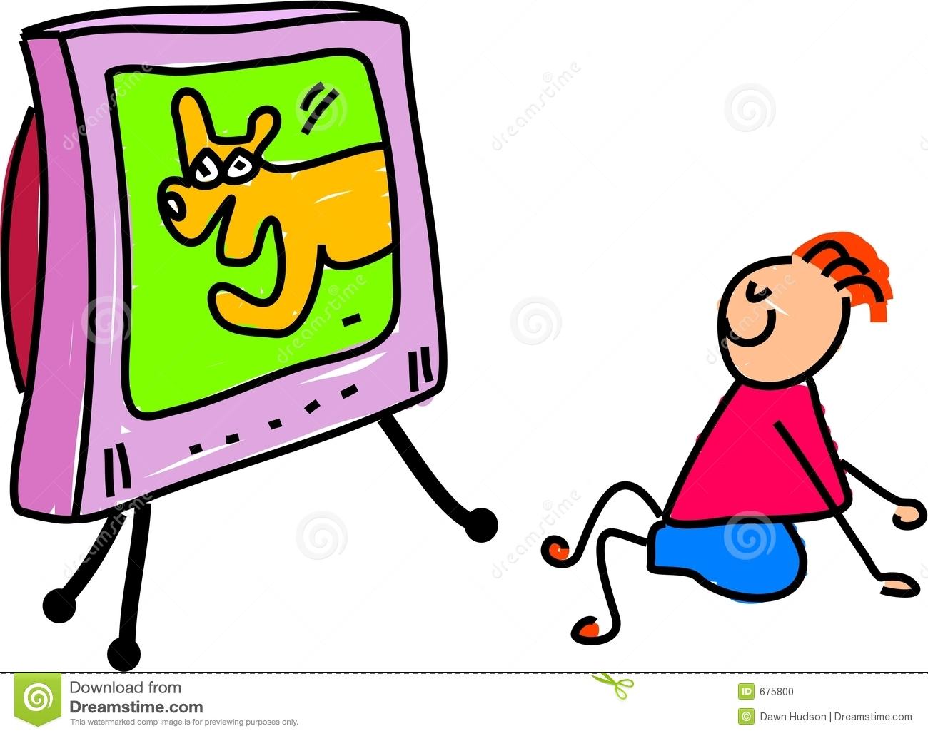 1300x1032 Kids Watching Tv Clipart Clipart Panda