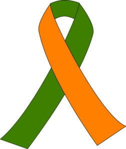 252x297 Ribbon For Kidney Walk Clip Art