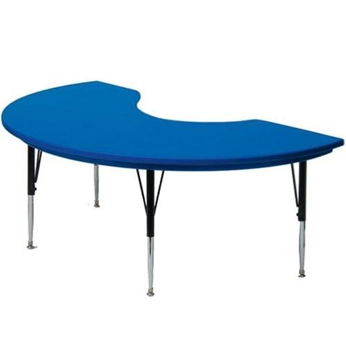 500x500 Correll 6' Kidney Shape Activity Table [Ar4872 Kid] Correll